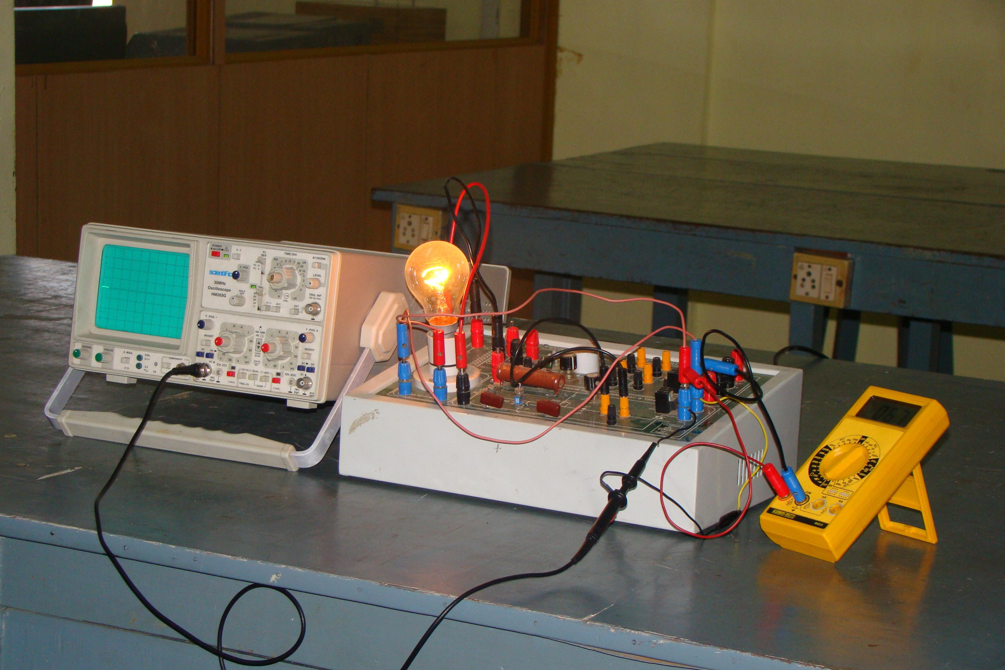 Labs Amp Infras Department Of Electrical And Electronics